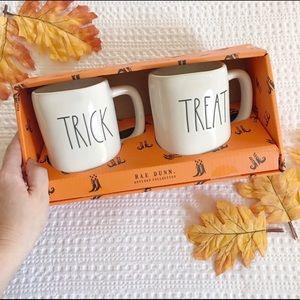 Rae Dunn Trick Or Treat Oversized Halloween Mugs